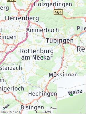 Here Map of Kiebingen