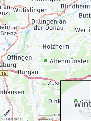 Here Map of Winterbach