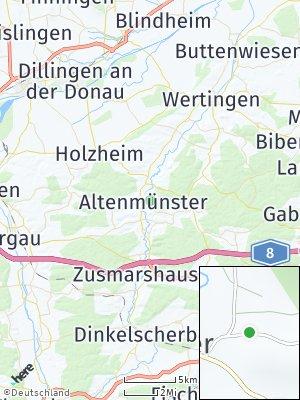 Here Map of Altenmünster