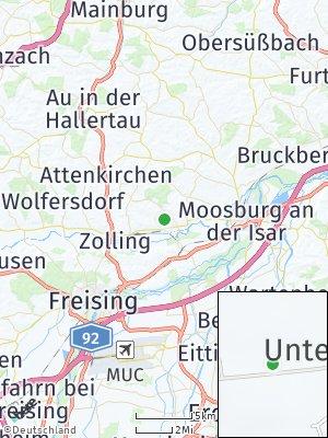 Here Map of Haag an der Amper