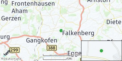 Google Map of Rimbach bei Eggenfelden