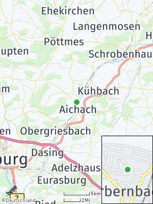 Here Map of Oberbernbach