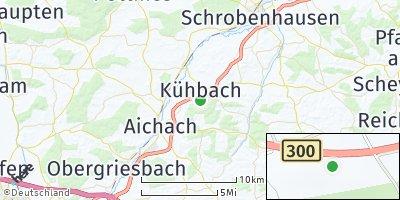 Google Map of Kühbach