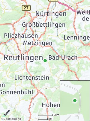 Here Map of Sankt Johann
