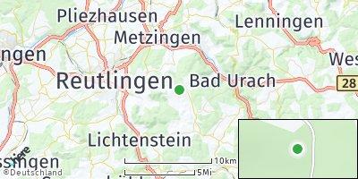 Google Map of Sankt Johann