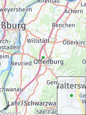 Here Map of Waltersweier