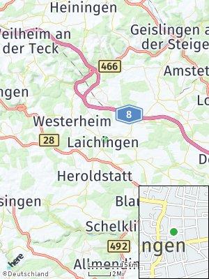 Here Map of Laichingen