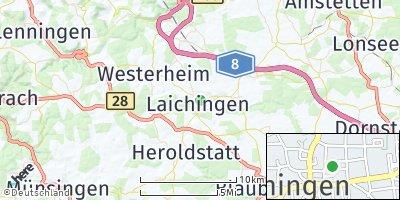 Google Map of Laichingen