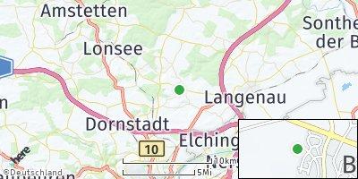 Google Map of Bernstadt