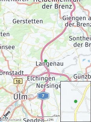 Here Map of Langenau