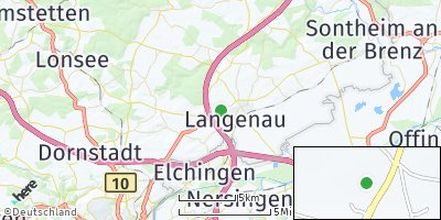 Google Map of Langenau