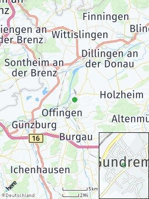 Here Map of Gundremmingen