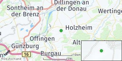 Google Map of Aislingen