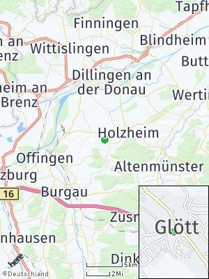Here Map of Glött