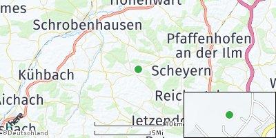 Google Map of Gerolsbach