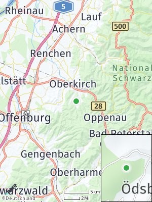 Here Map of Ödsbach