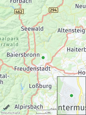 Here Map of Untermusbach