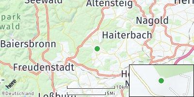 Google Map of Waldachtal