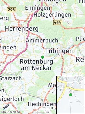 Here Map of Wurmlingen