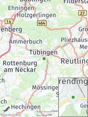 Here Map of Derendingen