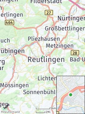 Here Map of Gmindersdorf