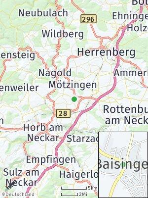 Here Map of Baisingen