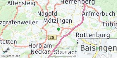 Google Map of Baisingen