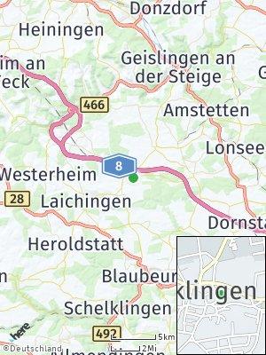Here Map of Merklingen