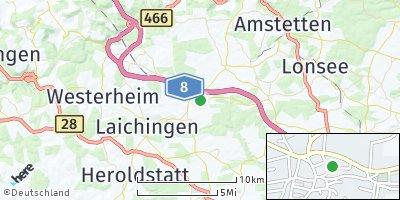 Google Map of Merklingen