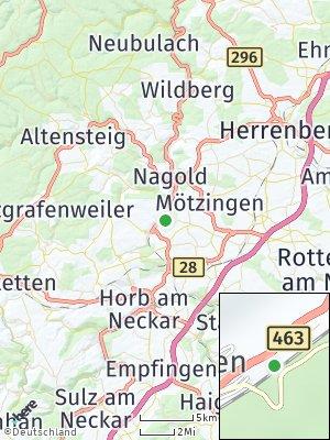 Here Map of Gündringen