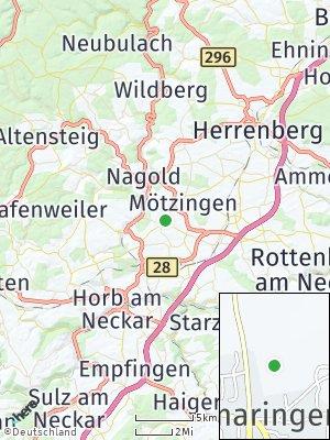 Here Map of Vollmaringen