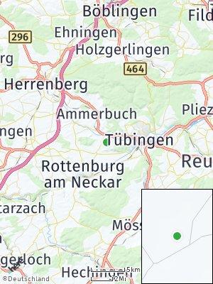 Here Map of Unterjesingen