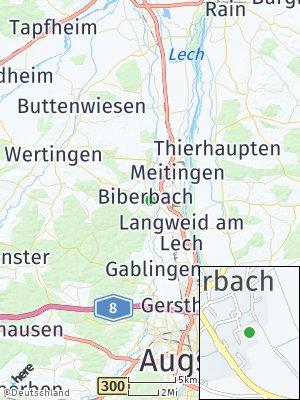 Here Map of Biberbach