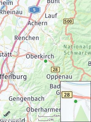 Here Map of Lautenbach
