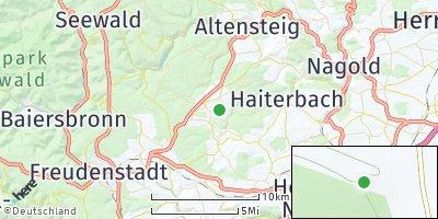 Google Map of Pfalzgrafenweiler