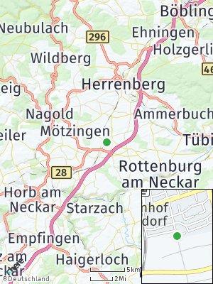 Here Map of Bondorf