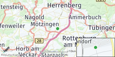 Google Map of Bondorf