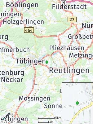 Here Map of Kusterdingen