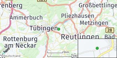 Google Map of Kusterdingen