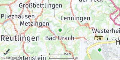 Google Map of Hülben