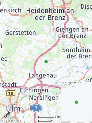 Here Map of Setzingen