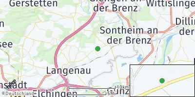Google Map of Asselfingen