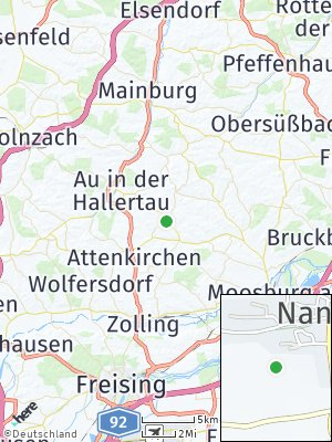 Here Map of Nandlstadt