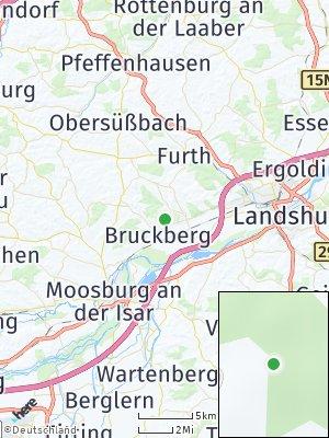 Here Map of Bruckberg