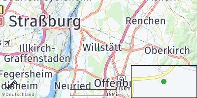 Google Map of Willstätt