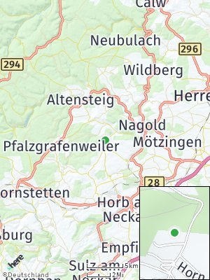 Here Map of Haiterbach