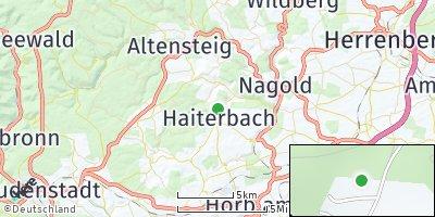 Google Map of Haiterbach
