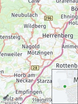 Here Map of Mötzingen