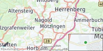 Google Map of Mötzingen