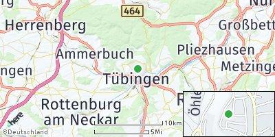 Google Map of Tübingen